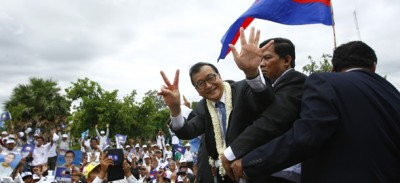 Sam Rainsy è tornato in Cambogia