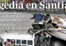 L'incidente di Santiago sui giornali spagnoli