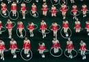 I giochi di massa a Pyongyang