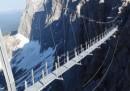 Il ponte sospeso sul Dachstein - foto