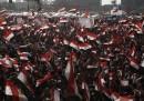 L'enorme manifestazione del Cairo