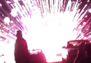 L'incidente con i fuochi d'artificio in California – video
