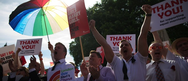 BRITAIN-GAY-MARRIAGE