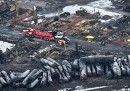 Le ultime sul treno esploso in Québec