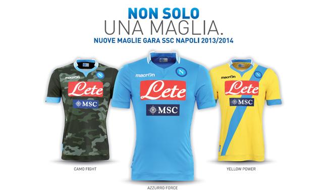 Seconda Maglia Napoli gara