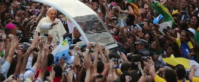 Le foto del Papa a Rio