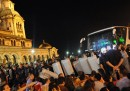 L'assedio al parlamento bulgaro