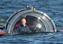 L'immersione di Vladimir Putin in sommergibile