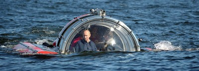 L'immersione di Vladimir Putin in sommergibile