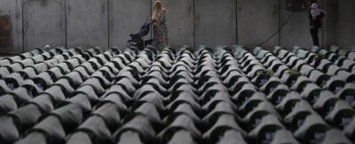 La sepoltura dei morti di Srebrenica