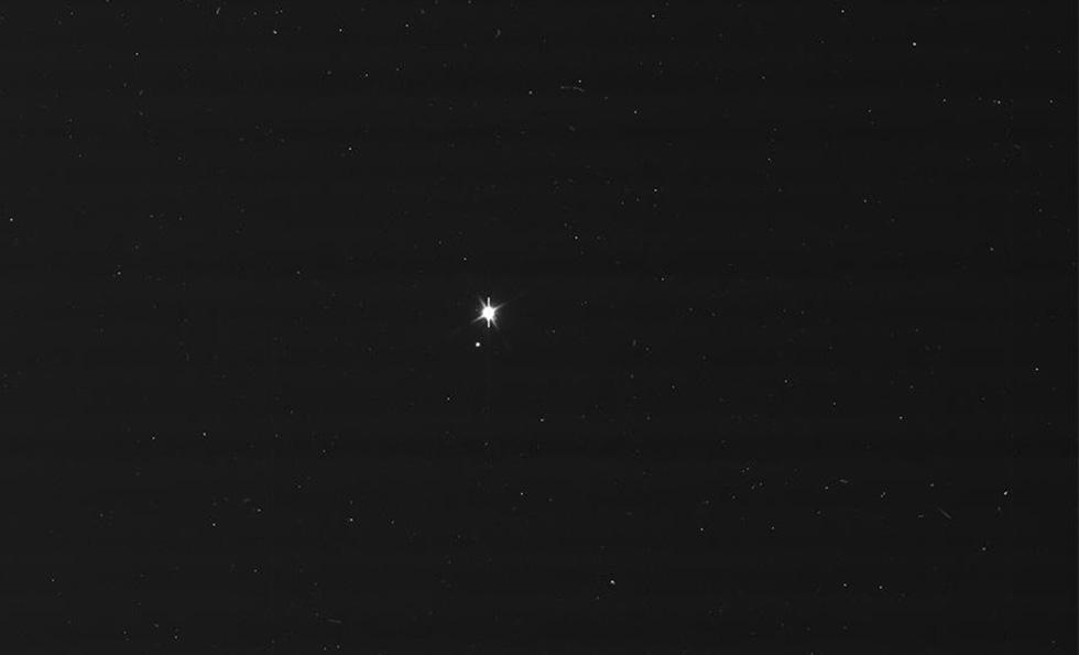 Foto Terra e Luna viste da Cassini e Messenger