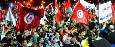 Le manifestazioni in Tunisia