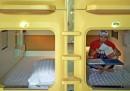 Le foto dell'hotel a capsule in Cina