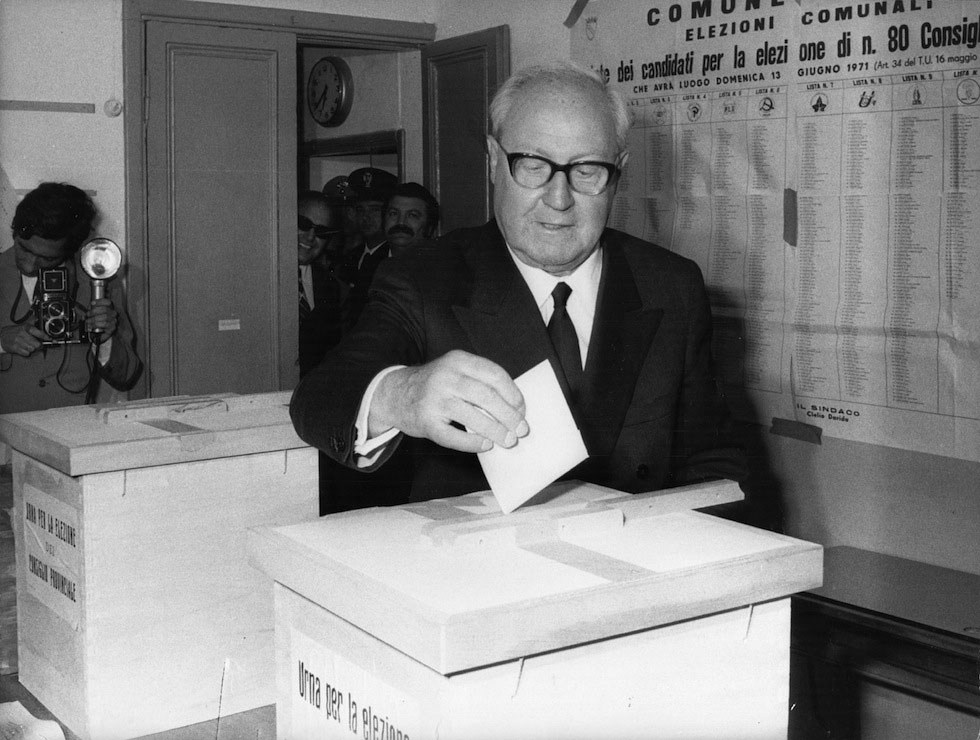 Saragat giuseppe biography for Quanti senatori