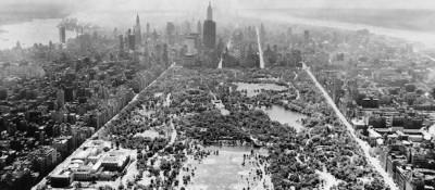 Central Park in bianco e nero