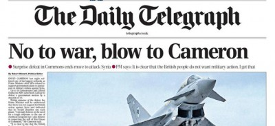 Le prime pagine dei giornali inglesi sulla sconfitta di Cameron