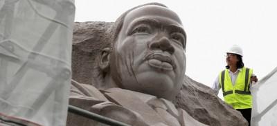 La frase incisa sul memoriale per Martin Luther King non va bene