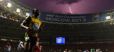 E quindi Bolt ha vinto i 100 metri