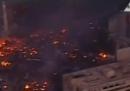 Il Cairo dall'alto, dopo gli scontri – video