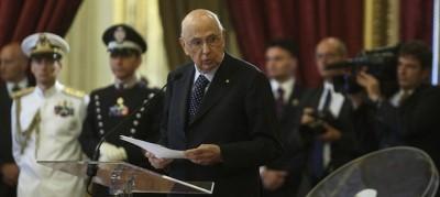 La nota di Napolitano su Berlusconi