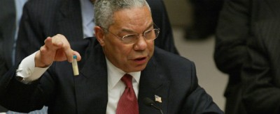 Colin Powell e l'antrace