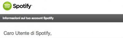 Cambiano le norme di Spotify