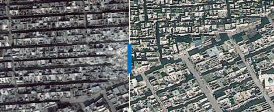 Aleppo prima e dopo la guerra