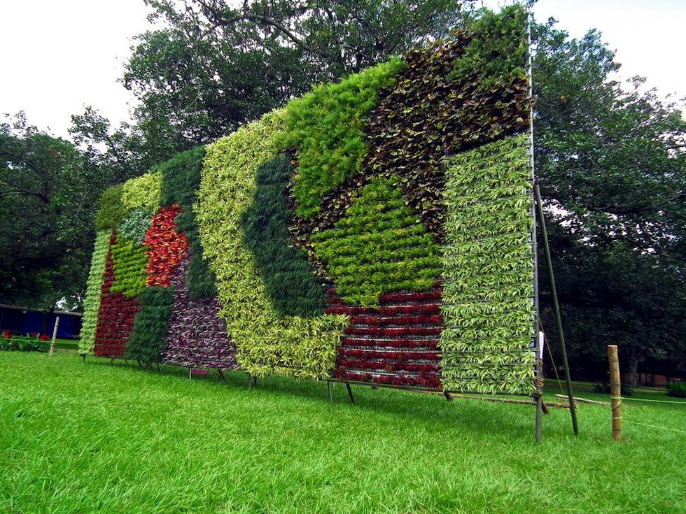 Giardini verticali il post for Ornamentacion de jardines