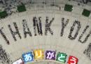 Il Giappone ringrazia
