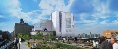 Il progetto della nuova sede del Whitney Museum