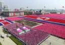 La gigantesca parata in Corea del Nord – foto