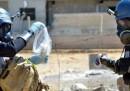 La Siria ha consegnato la lista delle armi chimiche