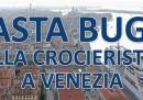 La pagina comprata per difendere le grandi navi a Venezia
