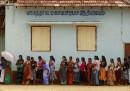 Si vota nelle zone della guerra civile in Sri Lanka