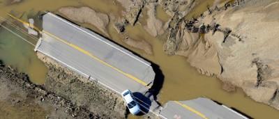 I danni in Colorado, fotografati