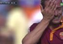 Le foto di Balzaretti che piange dopo il gol nel derby