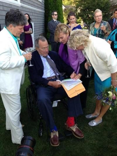 Bush matrimonio gay