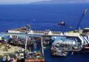 Il raddrizzamento della Costa Concordia