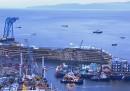 Costa Concordia, il raddrizzamento in time-lapse
