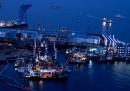 Costa Concordia, il recupero del relitto