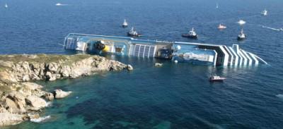 Da lunedì si raddrizza la Costa Concordia