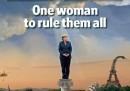 La copertina dell'Economist con Angela Merkel