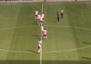 Il gol spettacolare del RB Leipzig