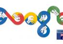 Il doodle di Google sulle elezioni australiane