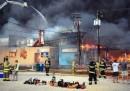 L'incendio al Jersey Shore