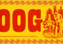 John Wisden, giocatore di cricket, in un doodle di Google