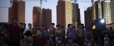 Le donne nei cantieri di Shangai