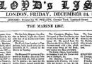 La storia del Lloyd's List