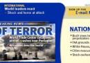 Le homepage statunitensi l'11 settembre 2001
