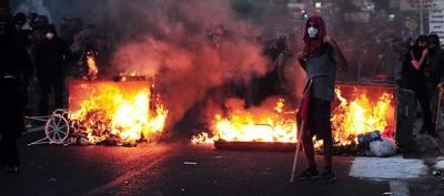 Le manifestazioni antifasciste in Grecia